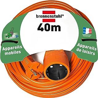 Brennenstuhl Verlängerungskabel H05VV-F 2 x 1,5 orange, Orange, 1162401