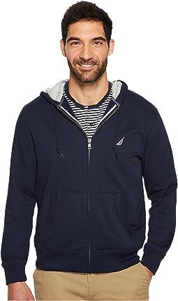 Nautica - Long Sleeve Fleece Hoodie