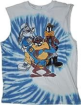 Fashion Looney Tunes White Sleeveless Muscle Shirt