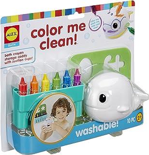 Alex Color Me Clean Bath Fun - 3 Years & Above, 10 Pieces