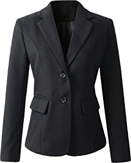 Womens Formal 2 Button Blazer Jacket
