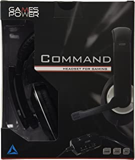 Logic3 Gp295 Command Headset For Gaming (Xbox /360/PS3/Pc Dvd) [Importación Inglesa]