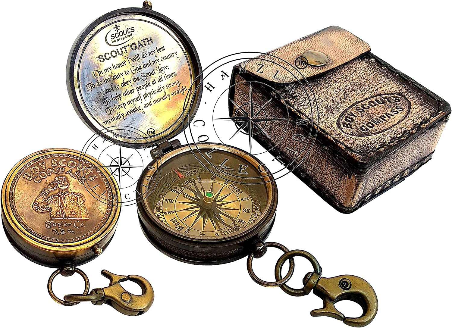Hanzla Collection Charlotte Mall Antique Brass Limited price sale Compass Maritime Nautical Boy Sc