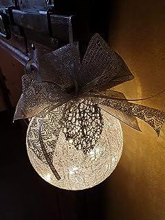 Pallina di Natale dia 12cm / argento, Idea Decorativa per Natale
