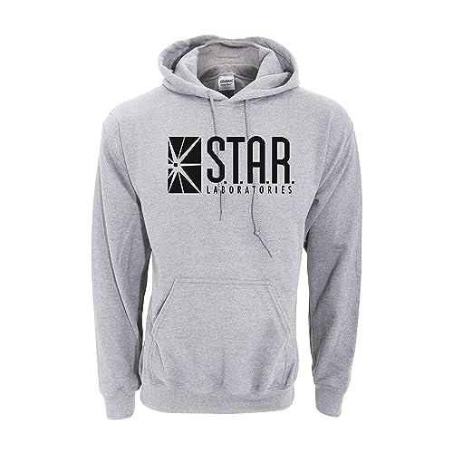 Sudadera con capucha inspirada en STAR Laboratories - Sudadera con capucha de S.T.A.R. Labs de la