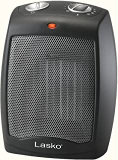 Lasko CD09250 Ceramic Portable Space Heater with Adjustable Thermostat - Perfect For the Home or Home Office