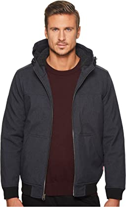 Hooded Bomber with Sherpa Lining