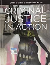 criminal justice in action 10th edition