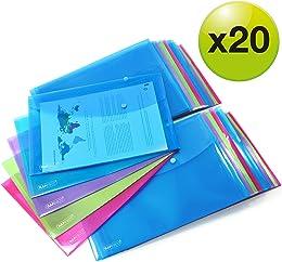Rapesco 1494 Pochettes Porte-document A4+ Lot de 2