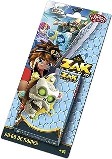 Zak Storm-1034807 Zag Zak Storm Playing Cards, Multi-Colour, 22 x 10 x 2 cm (Heraclio Fournier 40 Cards)