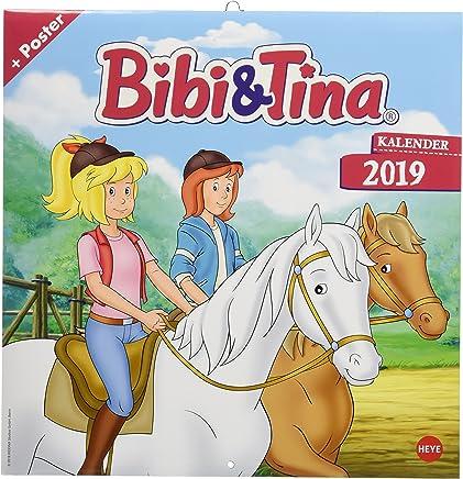 Bibi und Tina TV Broschurkalender Kalender 2019 Heye