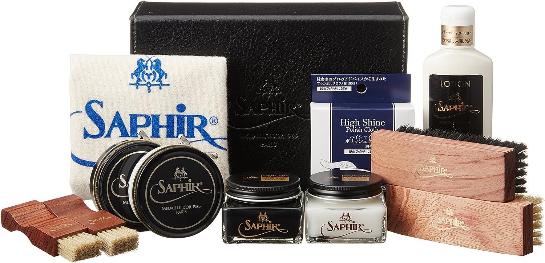 [Saphir svart] Deluxe High High High Shine set stor 4900123000 neutralt svart, utan neutral storlek  bekväm