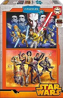 Educa - 16169 - Puzzle Classique - Star Wars Rebels - 2 X 100 Pièces