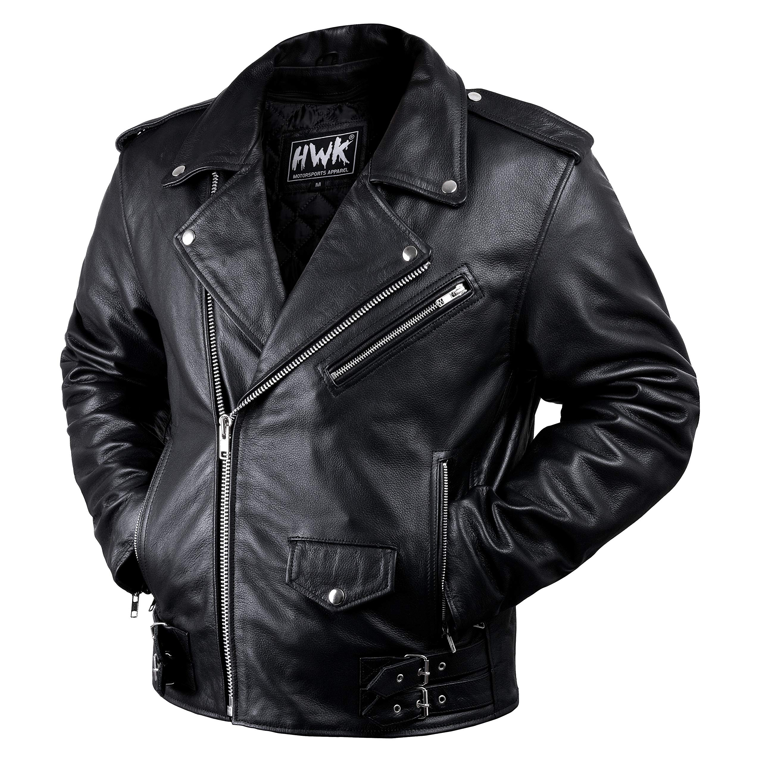 Leather Motorcycle Vintage Jackets Armored