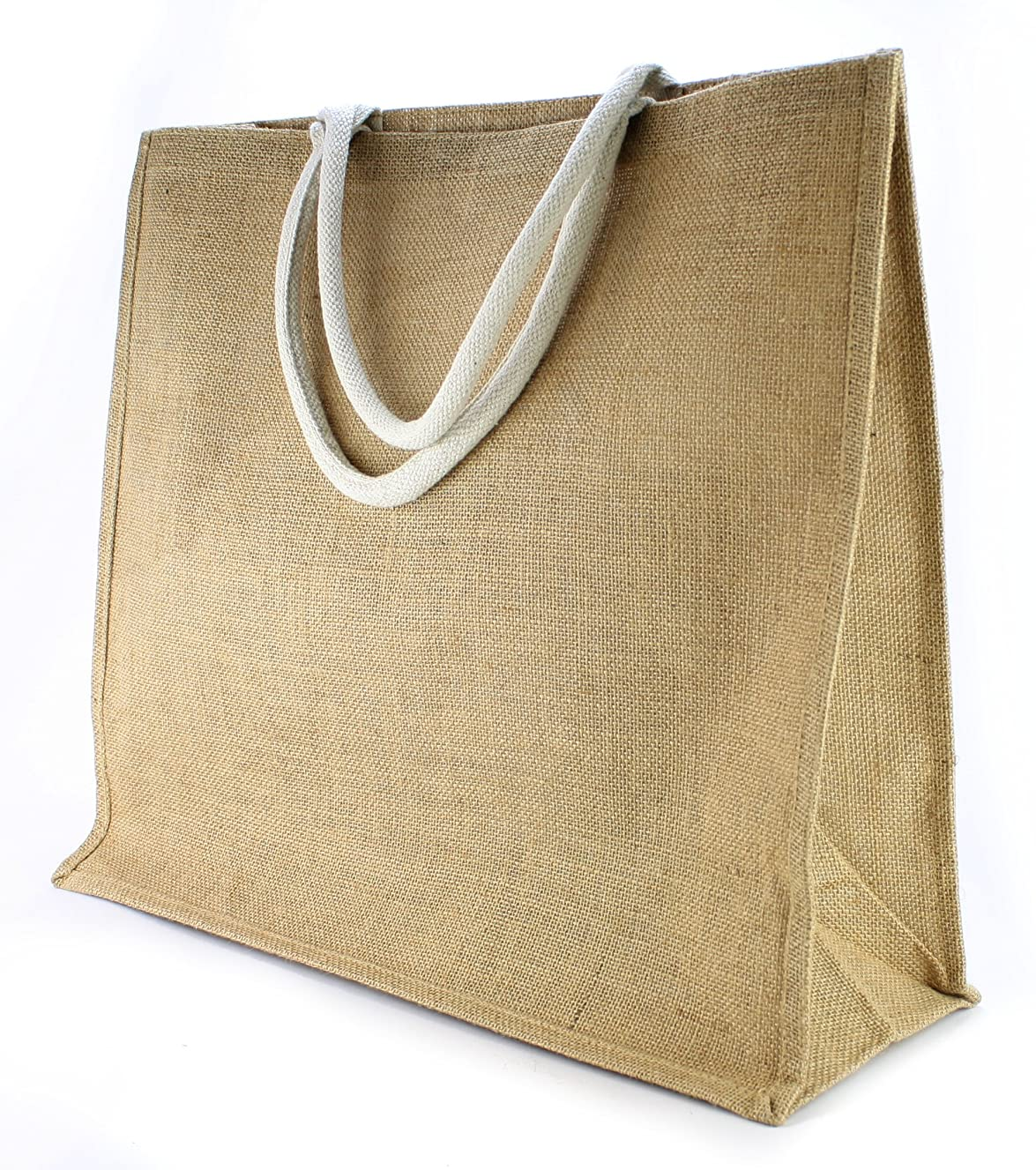Kel-Toy NJB31812 Burlap Jute Bag, 20 by 7 by 18-Inch, Natural