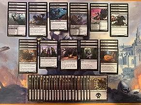 Black Creature Deck - Knight - Powerful - Modern Legal - Custom Built - Magic The Gathering - MTG - 60 Card!