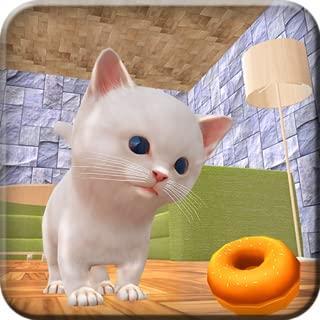 Kitten Home Adventure Craft Simulator 3D: Crazy Kitty Cat Evolution Games Free For Kids 2018