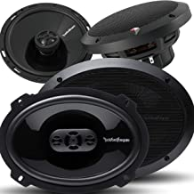 "$209 » Pair of Rockford Fosgate Punch P1694 6"" X 9"" 300W 4-Way + P1650 6.5"" 220W 2-Way Full Range Coaxial Speakers - 4 Speakers +..."