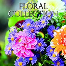 2020 Wall Calendar - Floral Collection Calendar, 12 x 12 Inch Monthly View, 16-Month, Blooms and Flower Bouquet Arrangements Theme, Includes 180 Reminder Stickers