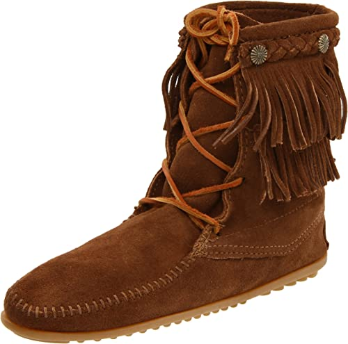 Minnetonka femmes Ankle Hi Tramper démarrage,Dusty marron,7 M US
