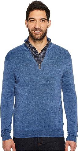 Calvin Klein - Merino End on End 1/4 Zip Sweater