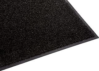 Guardian Platinum Series Indoor Wiper Floor Mat, Rubber with Nylon Carpet, 3'x11', Black