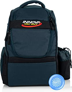 Innova Adventure Pack Backpack Disc Golf Bag – Holds 25 Discs – Lightweight – Includes Innova Limited Edition Stars Mini Marker