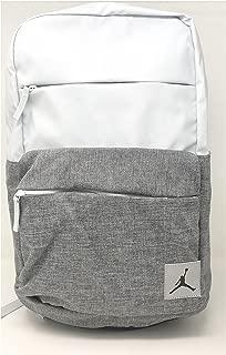 Nike Jordan Pivot Colorblocked Classic School Backpack (Pure Platinum)