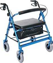 Essential Medical Supply Endurance HD Heavy Duty Walker with 500lb Weight Capacity