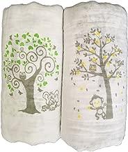 Muslin Swaddle Blankets 2 Pack - Seben Baby - 47