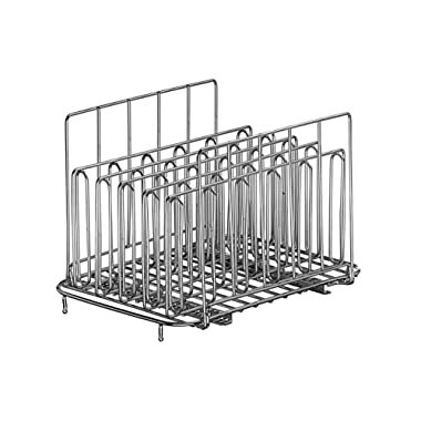 LIPAVI Sous Vide Rack – Model L15 – Marine Quality 316L Stainless Steel – Square 10.8 x 8 Inch – Adjustable, Collapsible, Ensures even and Quick warming – Fits LIPAVI C15 Container