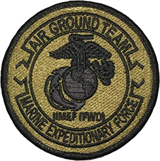 Papapatch USMC 2nd Marine Expeditionary Force MEF FWD EGA OCP Air Ground Team Hook and Loop Touch Fasteners Backing Patch (SC-Hook-USMC-MEF)