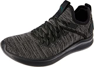 PUMA Kids' Ignite Flash Evoknit Jr Sneaker, Black-Dark Shadow-Ponderosa Pine