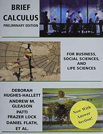 Brief Calculus: for Business, Social Sciences, and Life Science + Study Guide + Student Solutions Manual