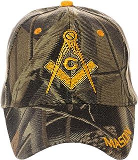 Artisan Owl Freemasons Masonic Square and Compass Hat - 100% Acrylic Embroidered Cap