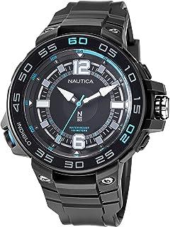 Nautica Men's Quartz Polyurethane Strap, Black, 28 Casual Watch (Model: NAPCNF109)