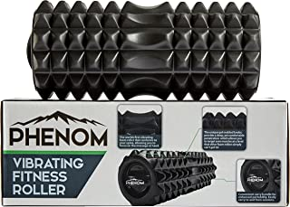 Monument Phenom 3 Speed Vibrating Foam Roller - Myofascial Recovery   Release Tension, Stiff Sore Muscles; Enhance Mobilit...