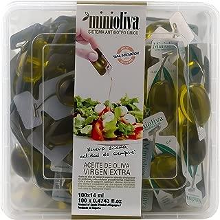 Minioliva Aceite de Oliva Virgen Extra - Paquete de 100 x 14