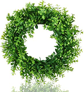 Best large fake wreaths Reviews