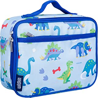 Wildkin Kids Insulated Lunch Box for Boys and Girls, Perfect Size for Packing Hot or Cold Snacks for School and Travel, Pa...