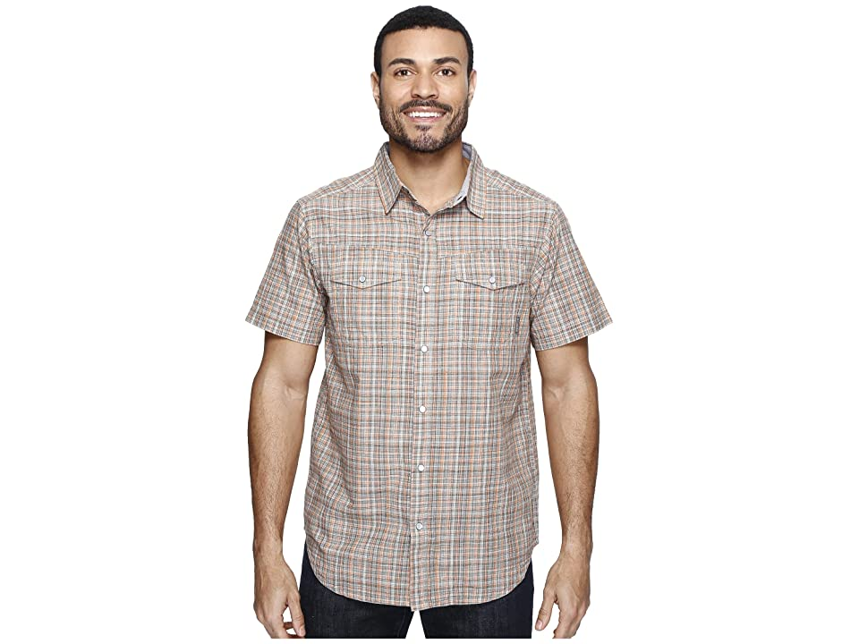 Columbia Leadville Ridgetm Short Sleeve Shirt (Valencia Plaid) Men