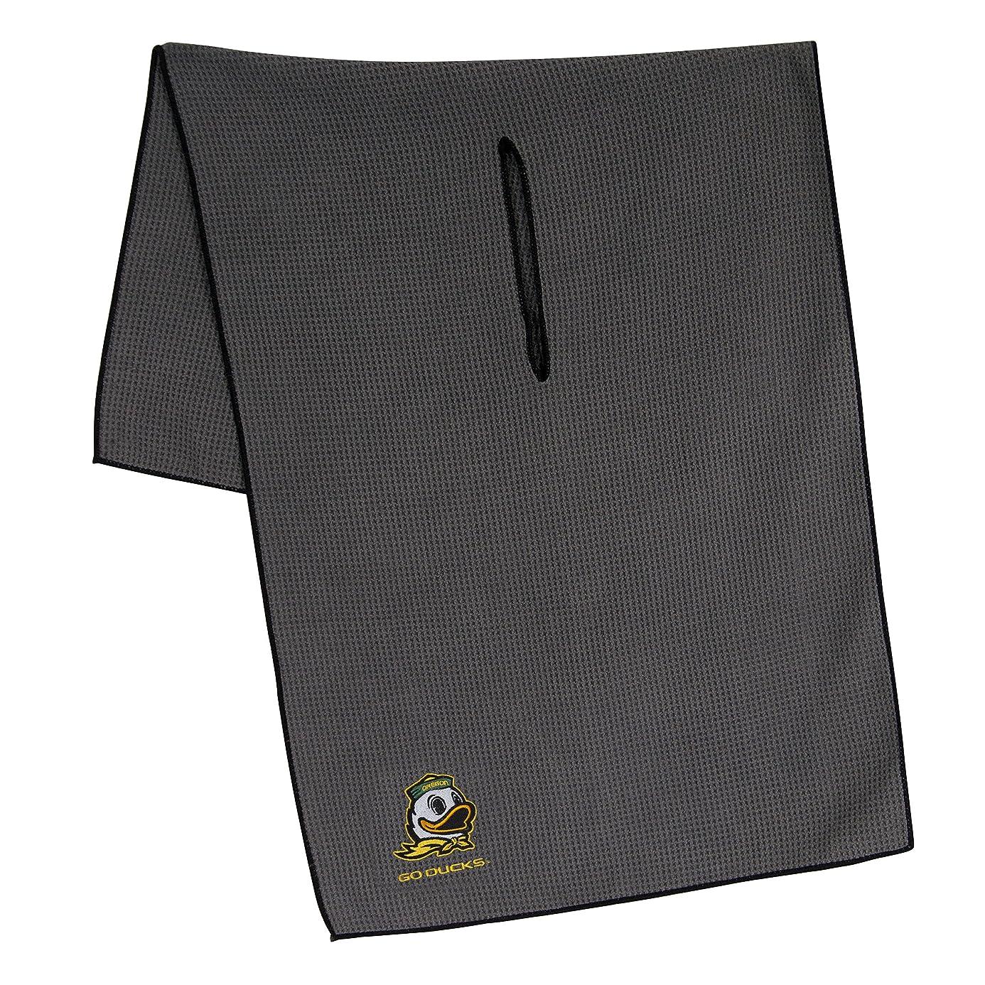 Team Effort Collegiate Grey Microfiber Towel