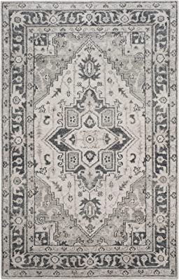 Amazon.com: nuLOOM Traditional Arabesque Area Rug, Blue, 5 ...