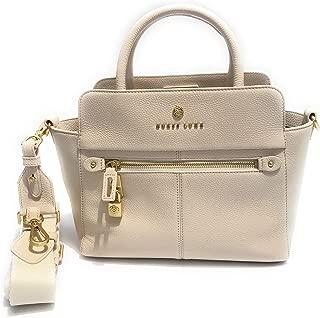 Borsa shopping Guess Luxe mod Lapis satchel 3 comparti pelle cognac donna Dimensioni borsa Grande