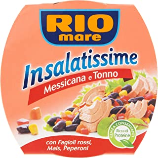 Rio Mare Insalatissime Mexican Tuna Salad Ready To Eat - 3 Cans - 5.64 Ounce Each