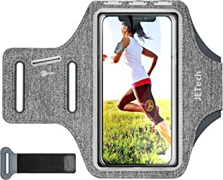 JETech Cell Phone Armband Case for Phone Upto 6.2 inch, Adjustable Band, w/Key Holder and Card Slot, for Running, Walking,...