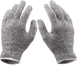 Safety Cut Proof Stab Resistant Stainless Steel Metal Mesh Butcher Gloves 1 Pair JG0012