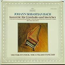 Johann Sebastian Bach: Konzerte fur Cembalo und Streicher ~ Concertos for Harpsichord and Strings BWV 1052, 1053, 1054 / Trevor Pinnock, The English Concert