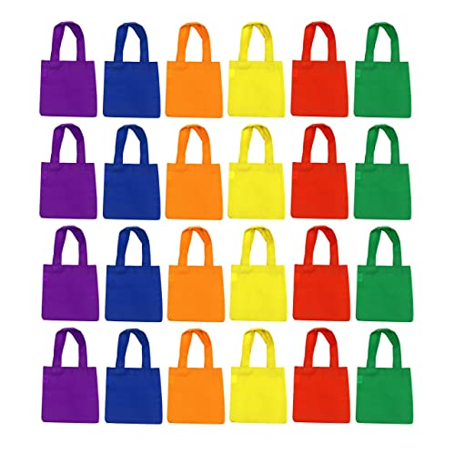 e7f3ad75a8 Small Neon Tote Bags With Handles For Party Favors