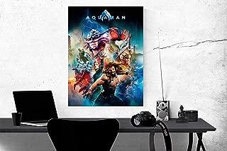 Art Finder Aquaman Poster DC Movie Poster, 2019 Wall Art, Films, Cinema, Home Decor, IMAX, Aquaman Print, Aquaman Movie Poster, Aquaman Artwork 24x32 inches